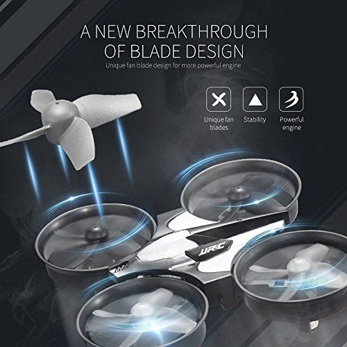 photo Wallpaper of JJRC-Mini Quadrocopter Drohne, JJRC H36 Mini Quadcopter Drone Spielzeug Geschenk-Grau
