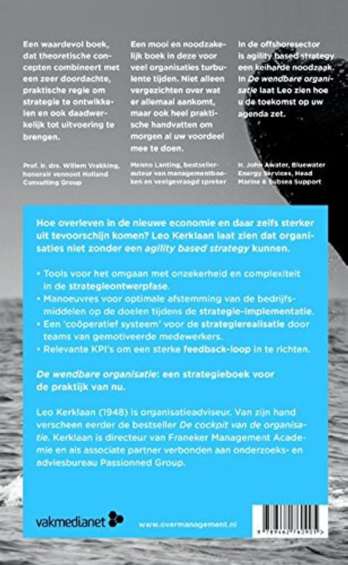 photo Wallpaper of -De Wendbare Organisatie: Agility Based Strategy In De Praktijk-