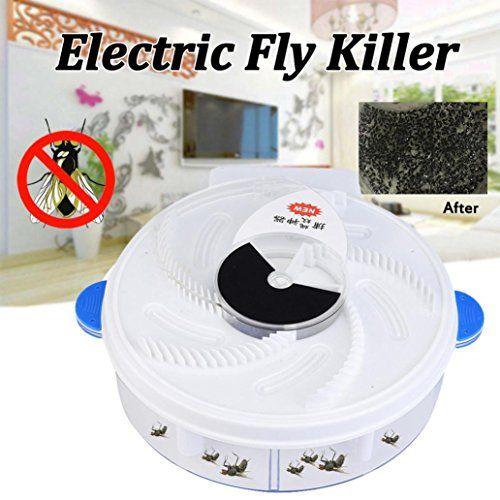photo Wallpaper of -BZLine Elektrische Fliegenfallen Gerät Mit Trapping Food   White USB Kabel (Weiß)-