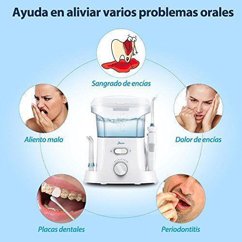 photo Wallpaper of Seneo-Seneo Irrigadores Dentales Irrigador Bucal, Irrigador Oral, Irrigador Dental Con 9-blanco