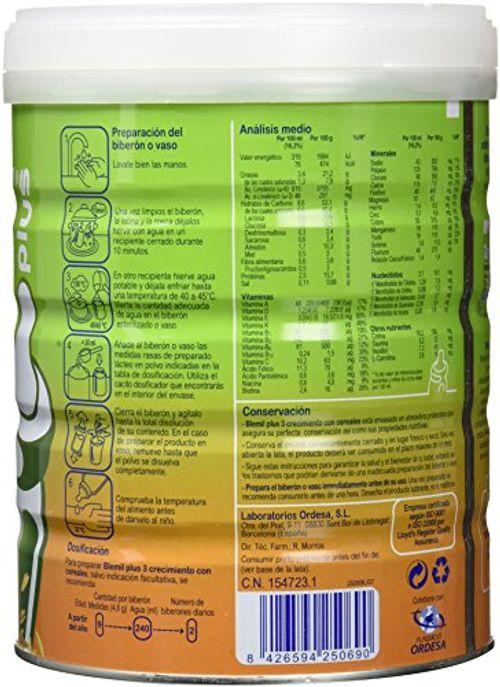 photo Wallpaper of Blemil Plus-Blemil Plus Leche Con Cereales   800 Gr-