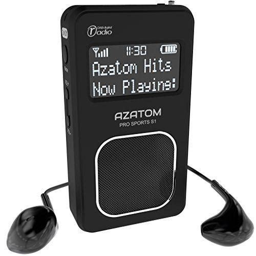 photo Wallpaper of AZATOM-Pro Sports S1 DAB Tragbares Digitalradio: Azatom Pro Sports S1   DAB-