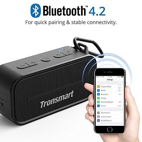 photo Wallpaper of Tronsmart-Bluetooth Lautsprecher, Tronsmart 10W Dual Driver IPX5 Wasserresistent, 12 Stunden-Schwarz