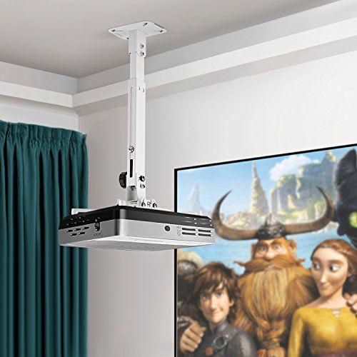photo Wallpaper of SIMBR-SIMBR Universal Beamer Projektor Decken  Und Wandhalterung Schwenkbar Neigbar Mit-Weiß