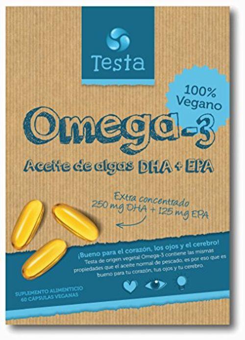 photo Wallpaper of Testa-Testa Omega 3 Aceite De Algas Cápsulas De 450mg Omega-