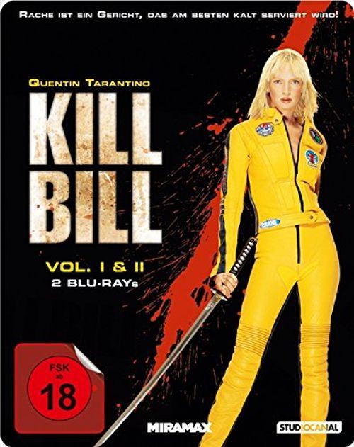 photo Wallpaper of THURMAN UMA-Kill Bill: Volume 1+2   Steelbook [Blu Ray]-
