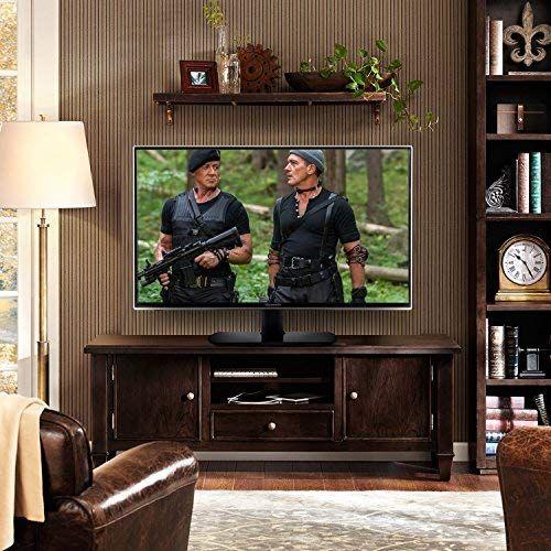 photo Wallpaper of RFIVER-RFIVER TV Ständer Fernsehtisch Standfuss Glas Standfuß Für 32 Bis-32
