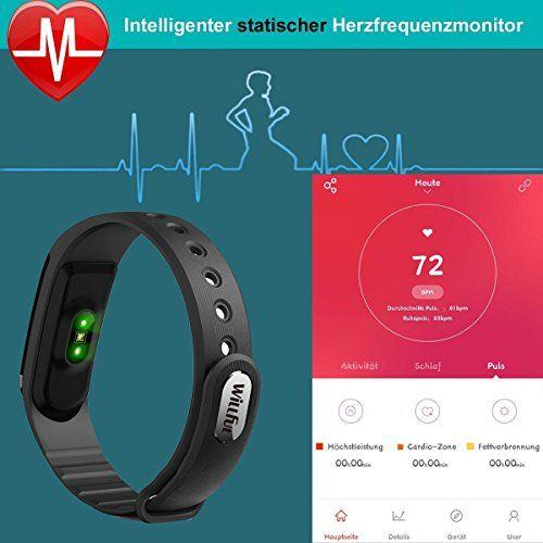 photo Wallpaper of Willful-Fitness Tracker Mit Herzfrequenz,Willful SW322 Fitness Armband Wasserdicht Aktivitätstracker Schrittzähler Armband Mit Pulsmesser Schlaftracker-