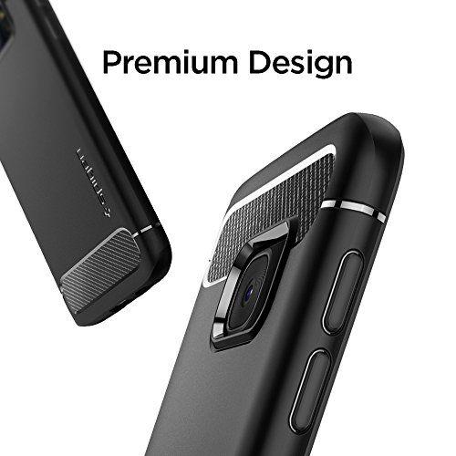photo Wallpaper of Spigen-Samsung Galaxy S7 Hülle, Spigen® [Rugged Armor] Elastisch [Schwarz] Ultimative-Einfarbig