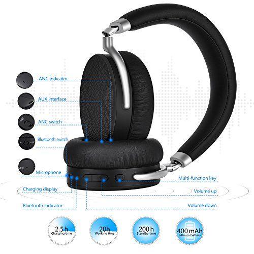 photo Wallpaper of Elekele-Bluetooth Kopfhörer, Elekele® On Ear Kopfhörer Headset, Kabellose Kopfhörer Mit AptX, 90° Drehgelenk, Eingebautem-EBH1002