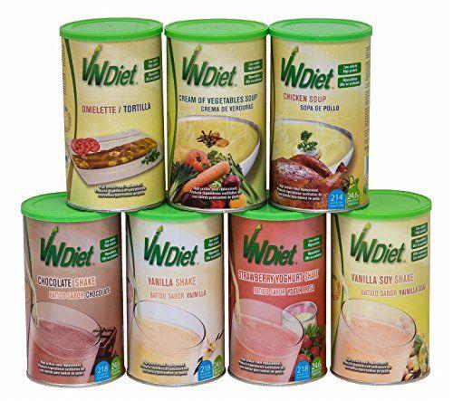 photo Wallpaper of Vanguard Nutrition-VNDiet Batido Sabor Yogur Fresa Sustitutivo De Una Comida Para Dieta Adelgazamiento, Alto En-