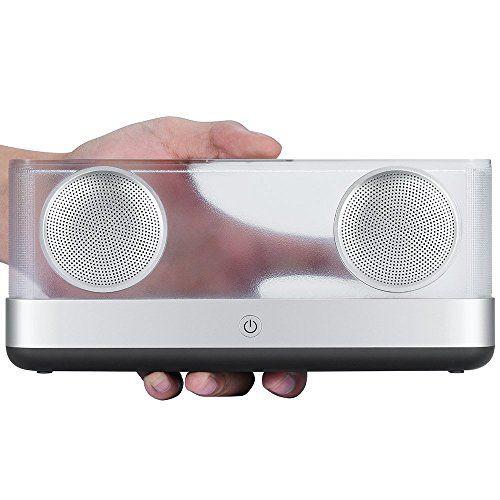 photo Wallpaper of DYTesa-Mobiler Bluetooth Lautsprecher 20W Tragbar Drahtloser Transparenter Lautsprecher Mit Verbessertem Bass Wireless-