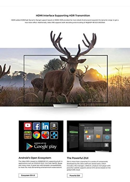 photo Wallpaper of Zidoo®-ZIDOO X9S TV Box Android 6.0 + OpenWRT(NAS) Duales System-
