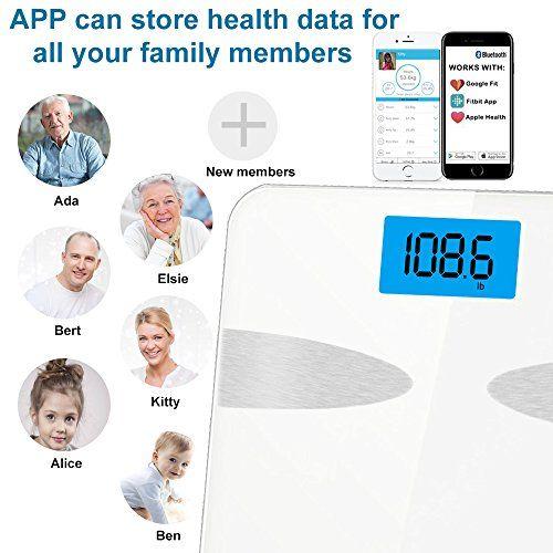 photo Wallpaper of YECO-Báscula De Baño Digital Bluetooth Con APP Por IOS Y Android, YECO Medidor-