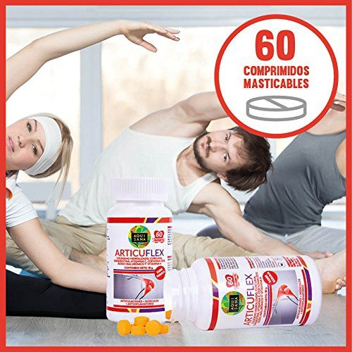 photo Wallpaper of COLAGENO-Comprimidos Masticables De Colágeno Con ácido Hialurónico, Cúrcuma Y Condroitina Para Articulaciones Y Huesos-