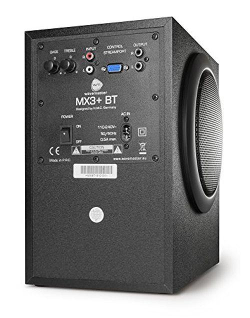 photo Wallpaper of Wavemaster-Wavemaster MX3+ BT 2.1 Lautsprecher System (50 Watt) Mit Bluetooth Streaming-Schwarz