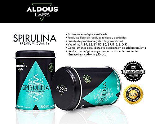 photo Wallpaper of Aldous Labs-Espirulina Ecológica Y Orgánica De Calidad Premium | 500 Comprimidos De 500mg-