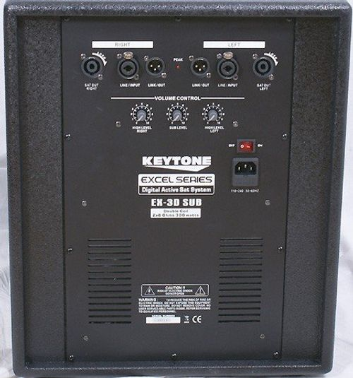 photo Wallpaper of Keytone-PROFESSIONELLES AKTIV SATELLITEN LAUTSPRECHER SYSTEM 900 WATT!-