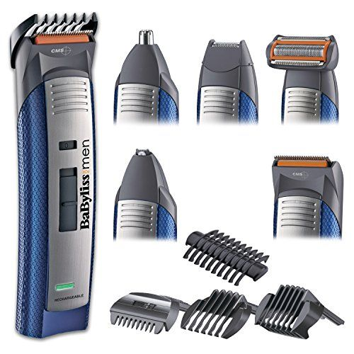 photo Wallpaper of BaByliss-BaByliss E836XE   Kit De Corte De Pelo, Multigroom, Maquinilla-Blanco