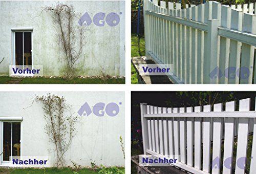 photo Wallpaper of AGO ® Sauberkeit für Haus und Garten-AGO ® Quart Komplett Set 2l Quart 400 Hochkonzentrat Grünbelagentferner + Druckluftspüher Profi-