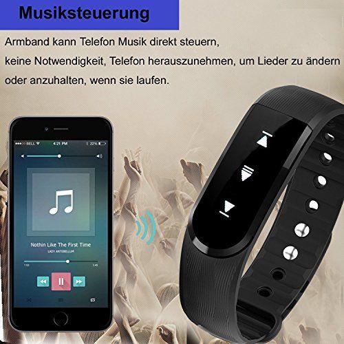 photo Wallpaper of Willful-Fitness Tracker Mit Herzfrequenz,Willful SW322 Fitness Armband Wasserdicht Aktivitätstracker Schrittzähler-