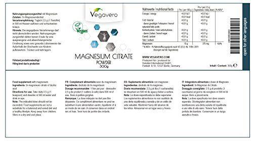 photo Wallpaper of Vegavero-Citrato De Magnesio En Polvo De Vegavero | Suplemento De Energía + Reducir-