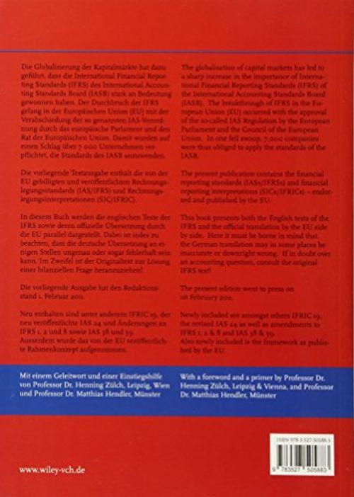 photo Wallpaper of -International Financial Reporting Standards (IFRS) 2011: Deutsch Englische Textausgabe Der Von-
