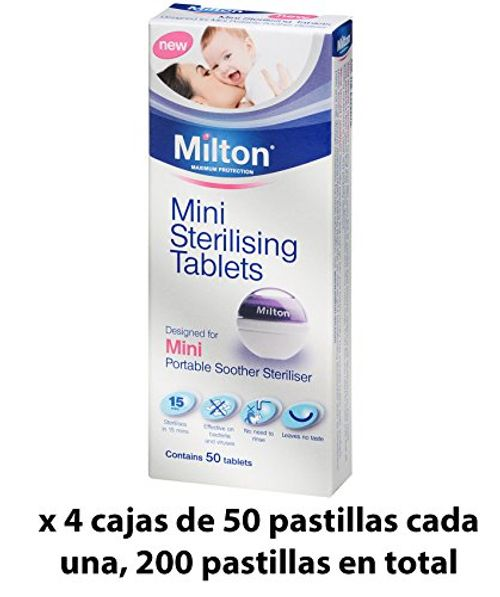 photo Wallpaper of Milton-Pastillas Esterilizadoras Mini Milton, 200 Unidades   Pastillas Para Esterilizar-