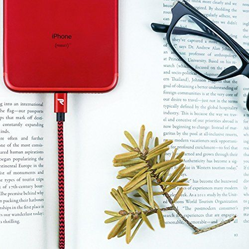 photo Wallpaper of Rampow-IPhone Ladekabel 1m / 3.3 Ft   Rampow® [Apple MFi Zertfiziert]-rot