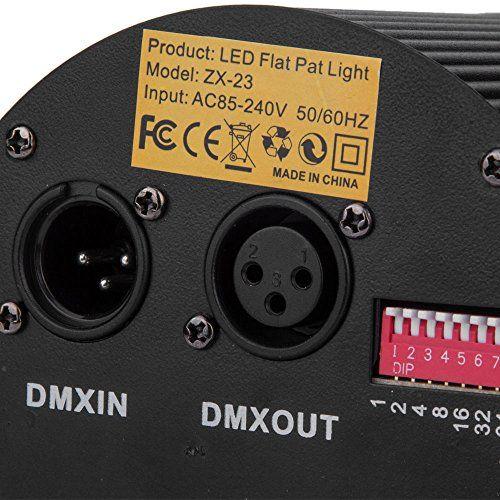 photo Wallpaper of ANNT®-86 LEDs Bühnenlampe DMX Disco Lichteffekt RGB DJ Projektor Strahler Party-RGB DMX 512