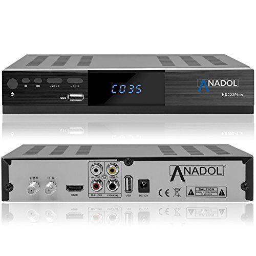 photo Wallpaper of Anadol-Anadol HD 222 Plus HD HDTV Digitaler Satelliten Receiver (Wifi,-Mit WLAN mit HDMI Kabel