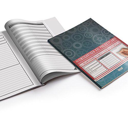 photo Wallpaper of XXL Notebooks-Mein Projektplaner / Planen, Umsetzen, Auswerten! / 122 Seiten, Register, Kontakte Uvm. / PR201-