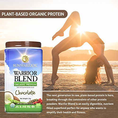 photo Wallpaper of Sunwarrior-Sunwarrior Warrior Blend 1Kg Chocolate Powder-
