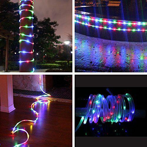 photo Wallpaper of MEIKEE-MEIKEE 120 LED Lichterschlauch 12M RGB 8 Modi Mit Memory Funktion Für Innen-