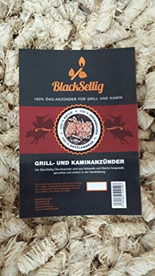 photo Wallpaper of BlackSellig-10 Kilo BlackSellig Öko Anzünder Anzündwolle Grillanzünder Ofenanzünder Kaminanzünder Aus-