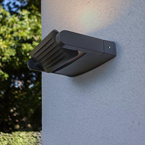 photo Wallpaper of Eco Light-ECO LIGHT Wandleuchte / Außenleuchte LEDSPOT In Anthrazit Mit 1x-Anthrazit