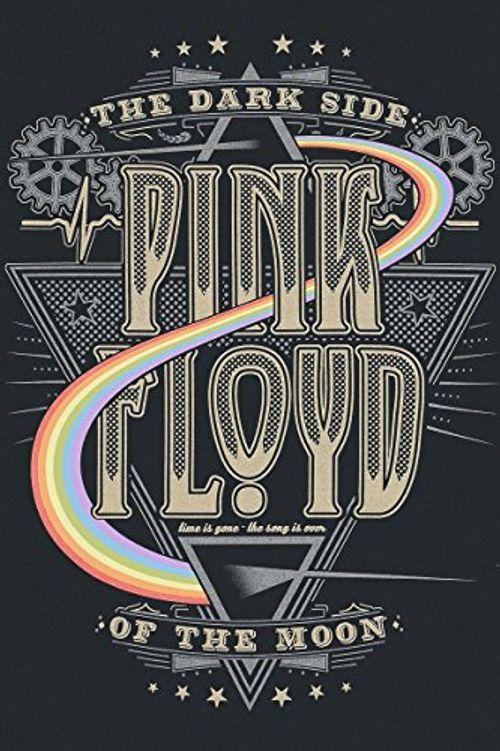 photo Wallpaper of Pink Floyd-Pink Floyd Dark Side T Shirt Schwarz-Schwarz