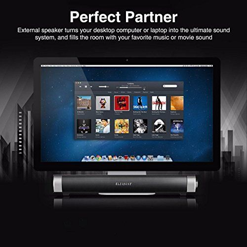photo Wallpaper of ELEGIANT-USB Lautsprecher, ELEGIANT Elegante Tragbare Stereo Lautsprecher Wired USB Powered Computer Lautsprecher Boxen Portable-USB Lautsprecher