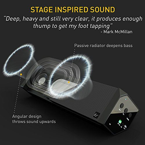 photo Wallpaper of KitSound-KitSound BoomBar 2 Universal Stereo Bluetooth Wireless Soundsystem Für Apple IOS-Schwarz