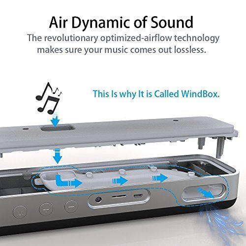 photo Wallpaper of DYTesa-Mobiler Bluetooth Lautsprecher 20W Tragbar Drahtloser Transparenter Lautsprecher Mit Verbessertem Bass Wireless Speaker-