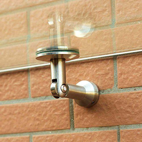 photo Wallpaper of SAILUN-SAILUN® VSG Überdachung Vordach Glasvordach Türvordach Verbundsicherheitsglas VSG 304 Edelstahl Klarglas Größen 180-