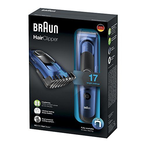 photo Wallpaper of Braun-Braun HC 5030 Braun HC 5030   Cortapelos Con 17-Negro, Azul