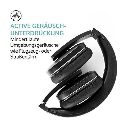 photo Wallpaper of auna-Auna Elegance • Bluetooth Kopfhörer • Bluetooth 4.0 + EDR Mit 10 M Reichweite-schwarz - mit Geräuschunterdrückung