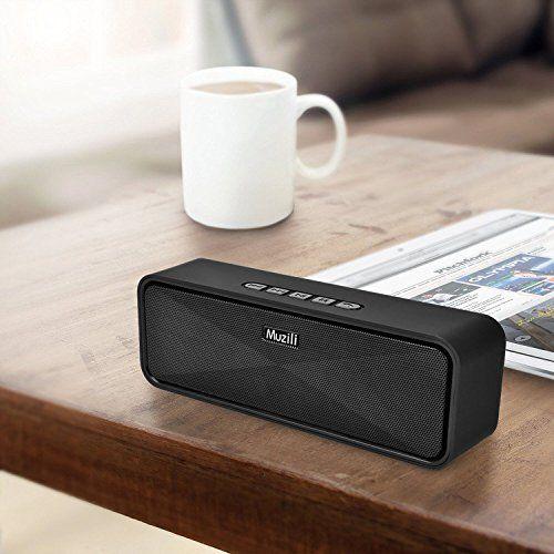 photo Wallpaper of Vigorun-Bluetooth Lautsprecher Muzili Kabelloser Lautsprecher Kräftiger Bass Tragbar Stereo HD-