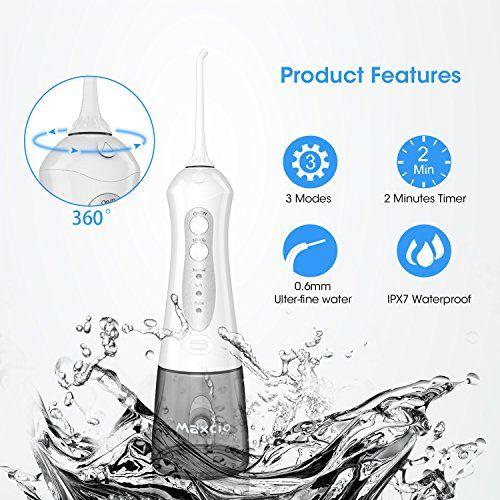 photo Wallpaper of Maxcio-Irrigador Dental Portátil Con 4 Boquillas, Maxcio Irrigador Bucal Profesional Con Bolsa De-Irrigador Dental Portátil