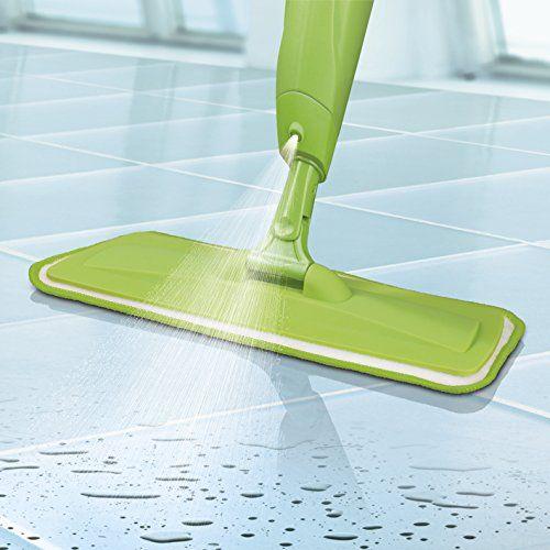 photo Wallpaper of cleanmaxx-Mopa Con Spray Y Depósito XXL De 600 Ml, Verde-