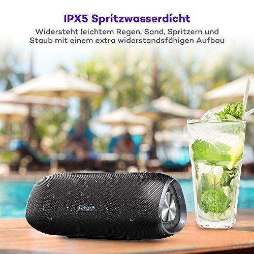 photo Wallpaper of VAVA-Bluetooth Lautsprecher 4.2 24 Stunden Spielzeit IPX5 VAVA, Bluetooth Speaker 5200mAh Dreieckiges-