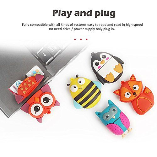 photo Wallpaper of LEIZHAN-LEIZHAN 8GB USB Stick 2.0 Silikon Nette Kleine Tiere Neuheit-Tier