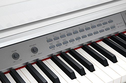 photo Wallpaper of Classic Cantabile-Classic Cantabile DP A 410 WH E Piano Set Inkl. Bank,-