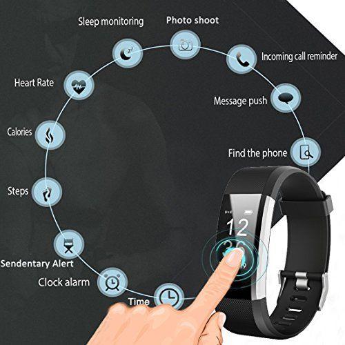 photo Wallpaper of WatchTech-Smart Watch Wasserdichte IP67 Activity Tracker Mit Pulsmesser   Fitness Tracker 0,96 \\\